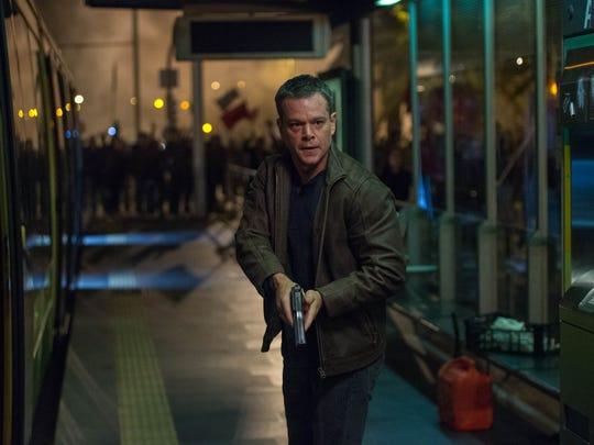 Matt Damon takes aim in 'Jason Bourne.'