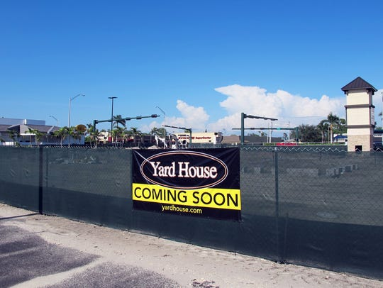 Yard House, a Darden Restaurant concept, is under construction