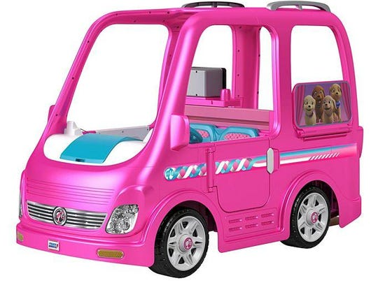 Fisher-Price is voluntarily recalling about 44,000 Children's Power Wheels Barbie Dream Campers because they can keep running after the foot pedal is released.