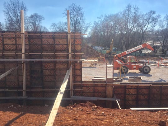 Reader wants to know what is being built near the Christian County Justice Center in Ozark.