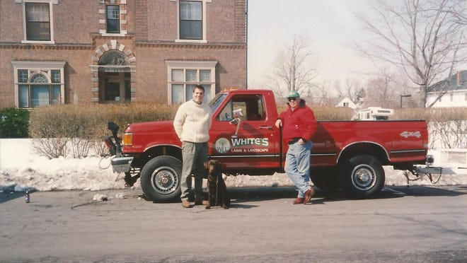 Jim and Terry White are seen in this circa 1994 photo.