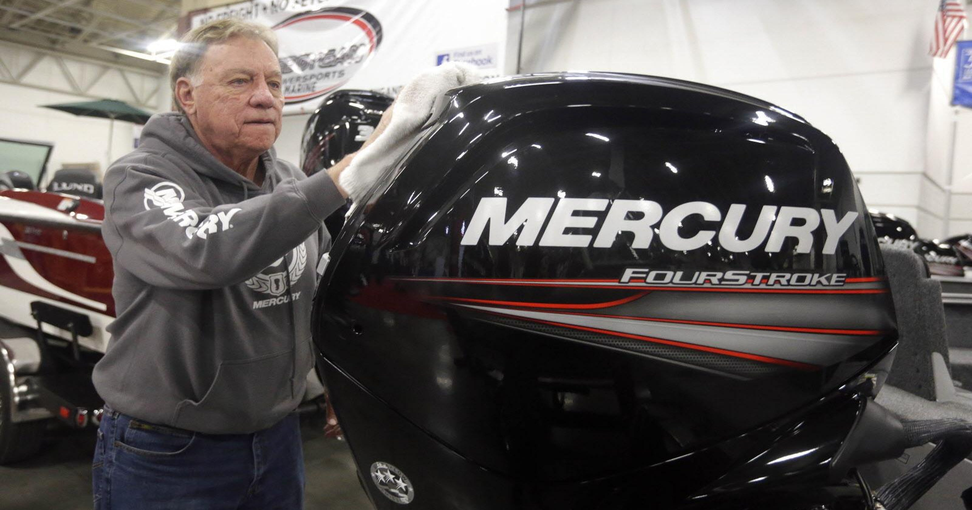 Mercury Marine gets a break on tariffs for its Chinese-made