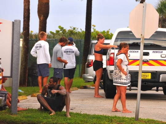 At least one person was struck by lightning at S.P.R.A Park in Satellite Beach Friday evening. Brevard County lifeguard captain Ashley Nolan saw the strikes hitting the beach on her way home from work, saw a man run out onto A1A by the park asking for help and knew someone was stuck by lightning. She performed CPR until Brevard County Fire Rescue arrived on scene.  Two people were taken to the hospital.