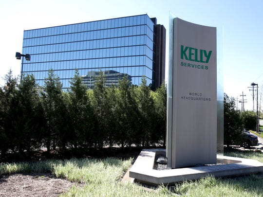The exterior of the Kelly Services world headquarters