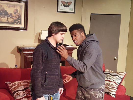 Gabe Sharp, left, and Michael McKissack Jr. in SistaStyle