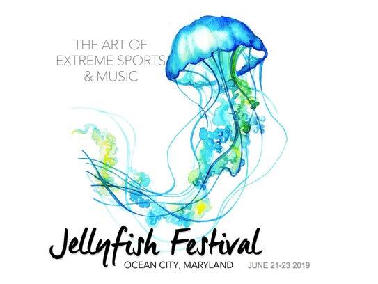 The Jellyfish Festival logo.