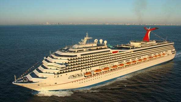 The 2,974-passenger, 110,000-ton Carnival Valor is