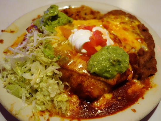 Trailing the Pack: Machaca Chimichanga at Tee Pee Mexican