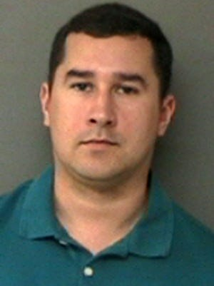 Then-Texas State Trooper Brian Encinia on Jan. 7, 2016, after his arrest on a perjury charge.