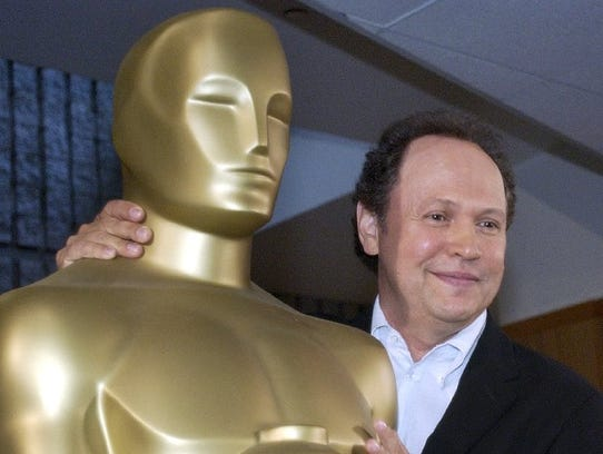 Billy Crystal, seen in 2003, has hosted the Academy