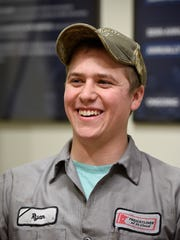 Diesel technician Ryan Schusted talks about his decision