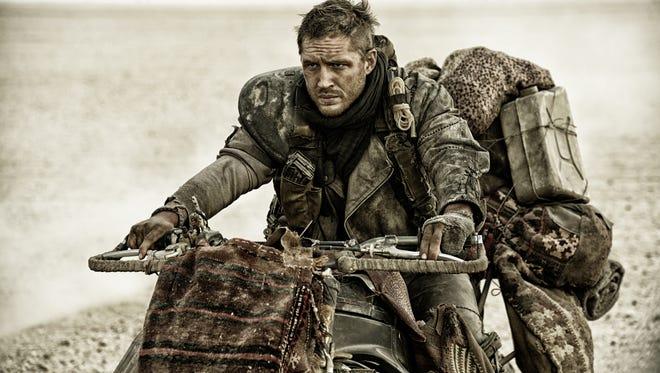 "Tom Hardy as Max Rockatansky in ""Mad Max: Fury Road."""