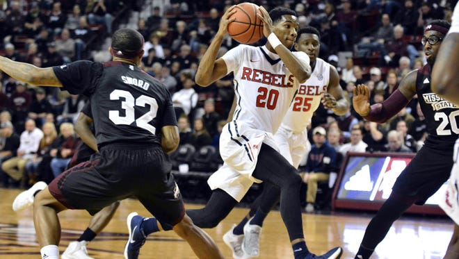 Ole Miss' Donte Fitzpatrick-Dorsey averaged just 6.6 minutes this past season.