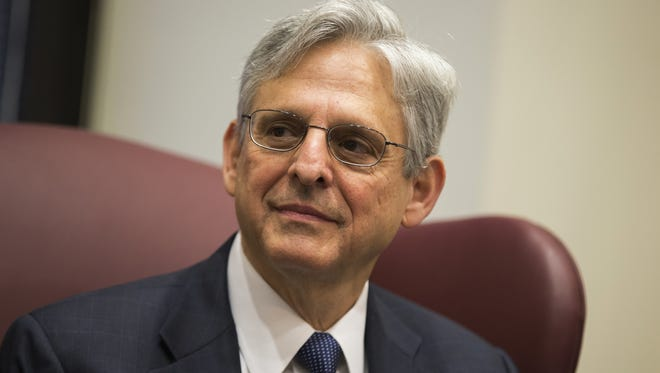 Judge Merrick Garland, President Barack Obama's choice to replace the late Justice Antonin Scalia on the Supreme Court.