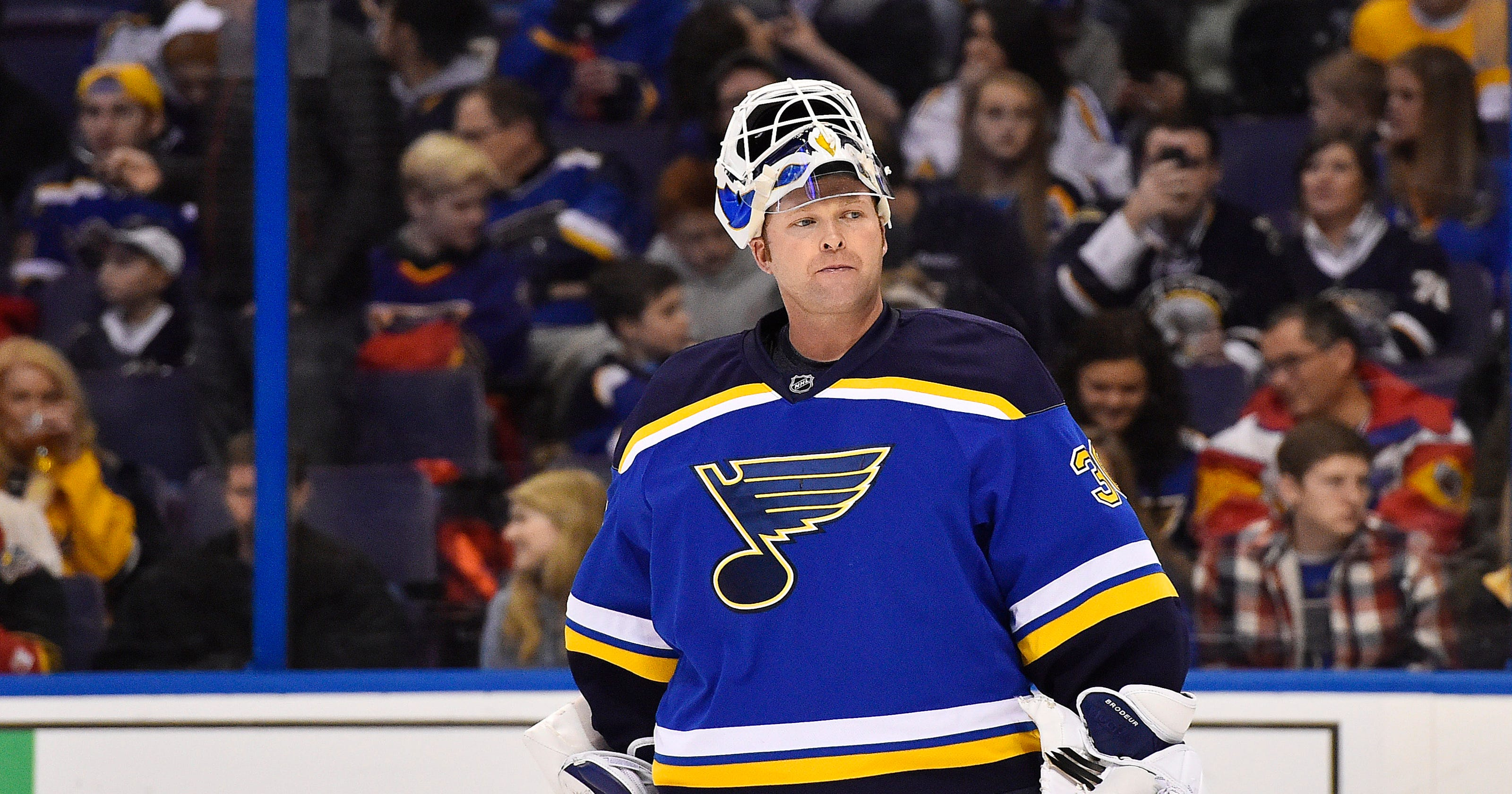 Martin Brodeur Retiring With Blues Will Always Be Devil