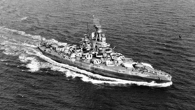 The Battleship Nevada