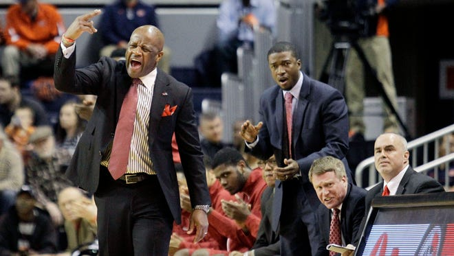 Head coach Mike Anderson's Arkansas Razorbacks have now won 6 of their last 10 SEC road games following Tuesday night's win at Auburn.