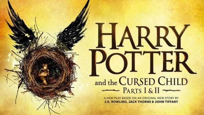 The latest Harry Potter book arrives this weekend.