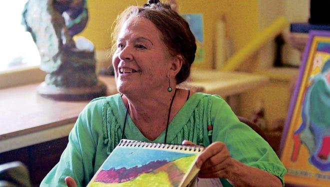 """Margarita """"Mago"""" Gándara shares drawings from her sketchbook in El Paso, after fleeing Juárez in 2011."""