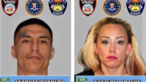 A cash reward may be available for information leading to the arrest of these two wanted fugitives.