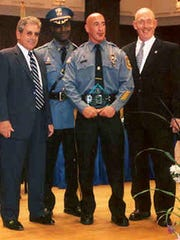 Gary Quatrano is shown in this 2005 picture, where he was honored for his service to the Juvenile Justice Commission.