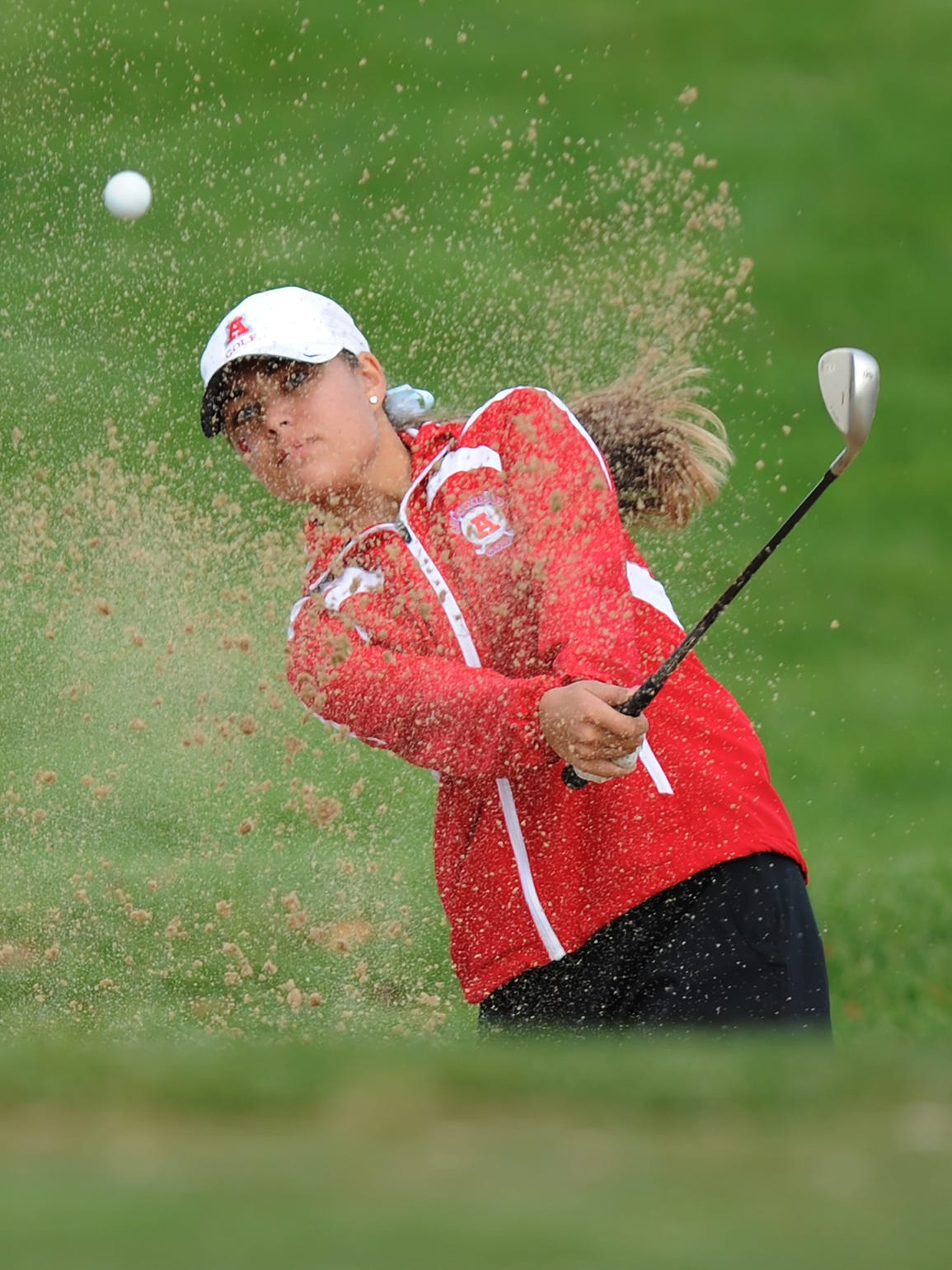 Arrowhead's  Gianna Gastrow blasts her way out of a