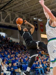 FGCU held USC Upstate leading scorer Deion Holmes, a junior guard, to just four points in the Eagles' home win on Jan. 11. But Holmes has since scored 30-plus points, including 34 in the Spartans' home win against Stetson on Thursday night.