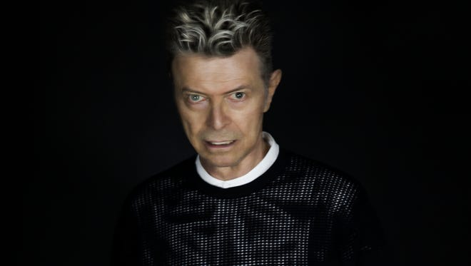 David Bowie's career has spanned nearly 50 years.