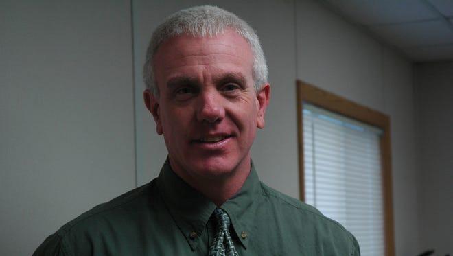 Andy Gardner Andy Gardner, principal of Stayton Middle/Intermediate School   Photo By Denise Ruttan Taken Friday, Jan. 22, 2010