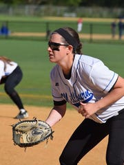 Millburn first baseman Helen Casey is a big component