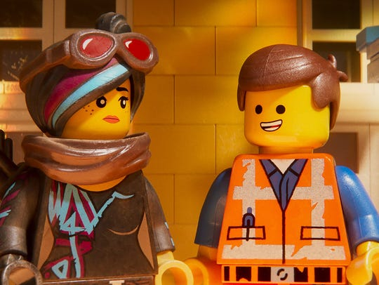 Wildstyle aka. Lucy and Emmet in 'The LEGO Movie 2: