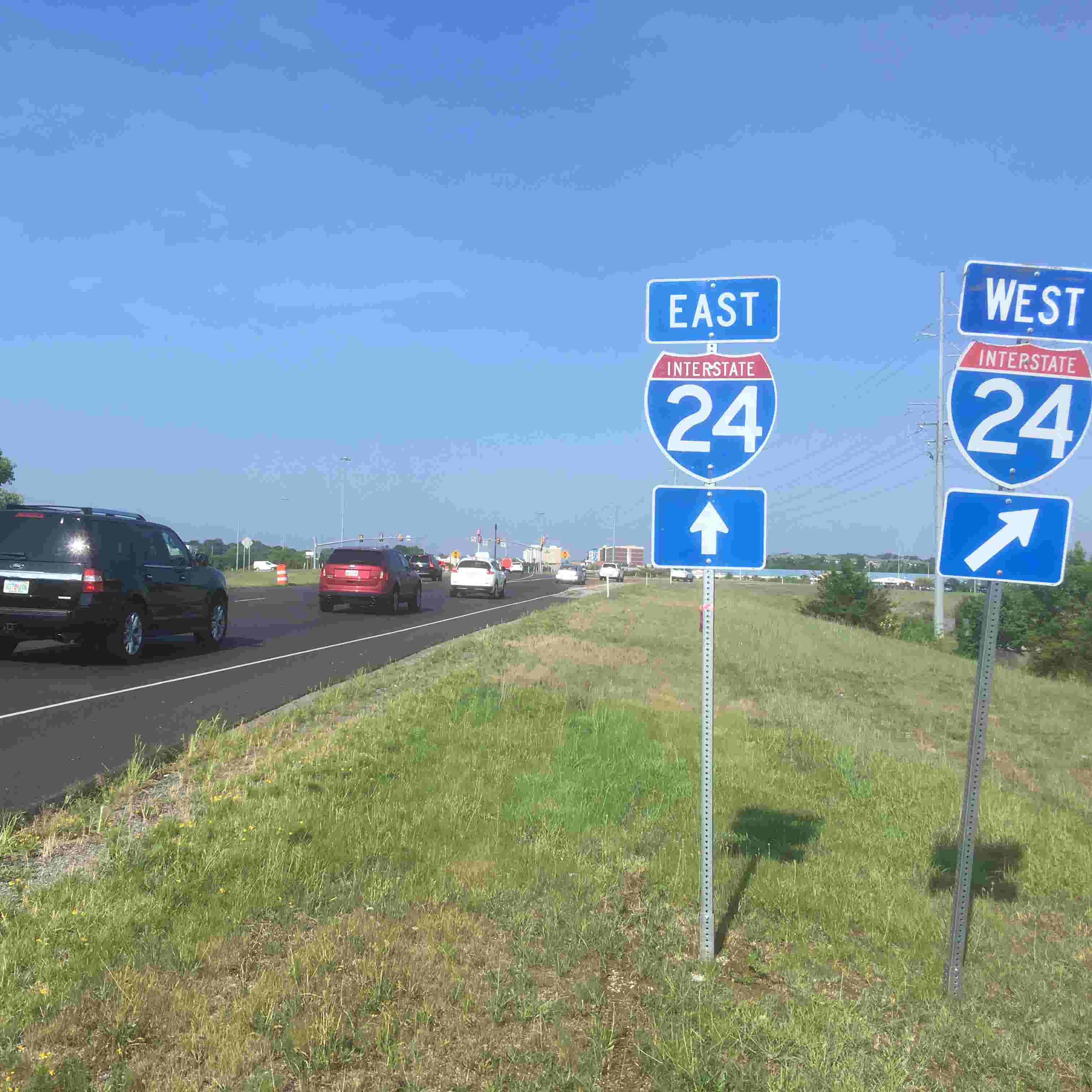 Sam Ridley Parkway will be widened to 3 lanes each way from 2 lanes