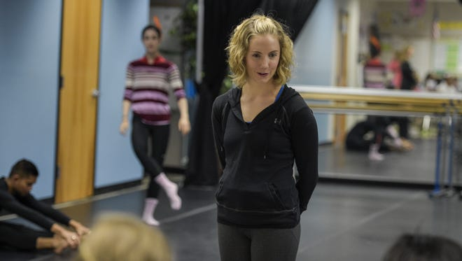 Dancer and choreographer Clare Cook is the founder of Basin Arts in Lafayette.
