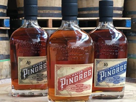 Valentine Distilling Co.'s Mayor Pingree bourbon whiskey.