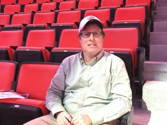 Richard Burr has been a Pistons season ticket holder