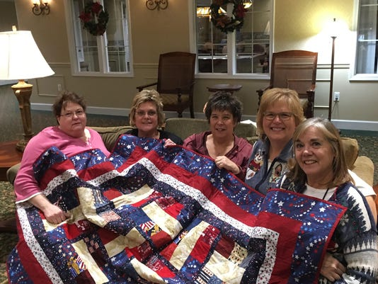 Members of Miracle Quilts