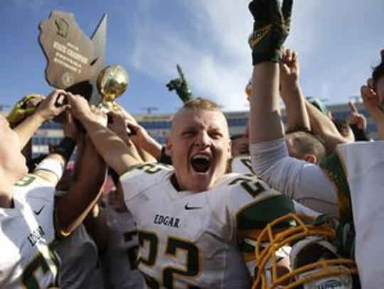 Edgar has won seven state championships overall, including four since 2000, with the program's most recent title coming in Division 7 in 2016. The Wildcats won the first state championship in 1979.
