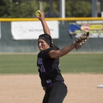Mission Oak pitcher Mariah Mazon is the 2015 Times-Delta/Advance-Register softball player of the year.
