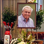 Michigan golfer gets 'priceless artifact' after Arnold Palmer's death