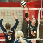 New Albany, Floyd Central volleyball to meet up in semifinal