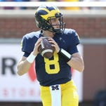 U-M's Speight, O'Korn hear Fab Five: Be comfortable being uncomfortable