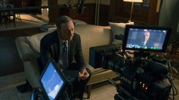 """Kevin Spacey in """"House of Cards"""" on Netflix."""