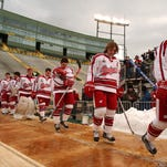 Lambeau Field hosted hockey in February 2006. The University of Wisconsin beat Ohio State, 4-2, in front of almost 41,000 fans in what was billed as The Frozen Tundra Hockey Classic.