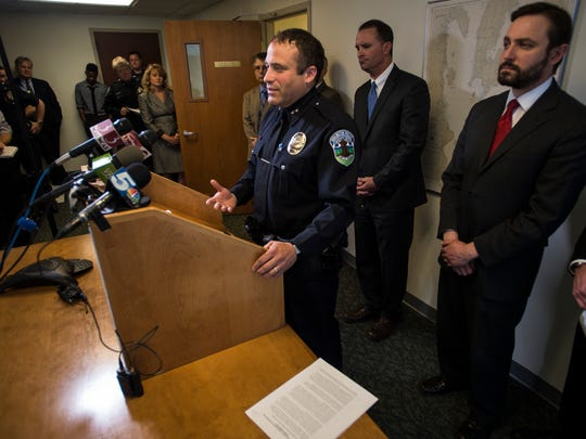 """Burlington Police Chief Brandon del Pozo talks about the lack of mental health services as well as drug treatment services that he says puts police on the front lines of both issues, issues that they are not equipped to deal with outside of responding to acute situations like the one the resulted in the death of Ralph """"Phil"""" Grenon in March."""