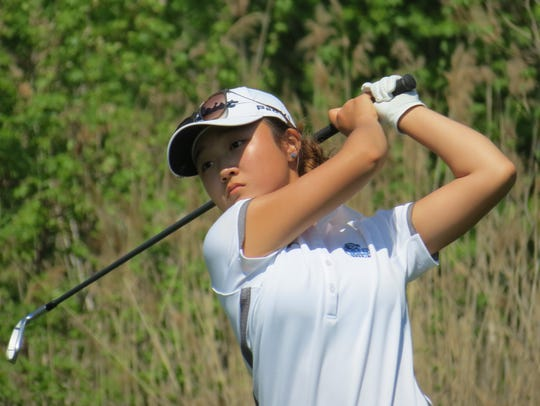 Sophomore Yoona Kim was runner-up while leading Immaculate