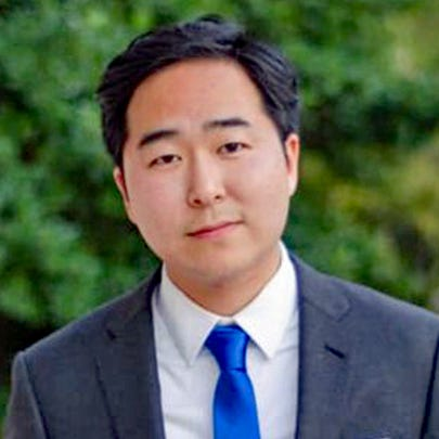 Andy Kim is running as a Democrat for the 3rd Congressional