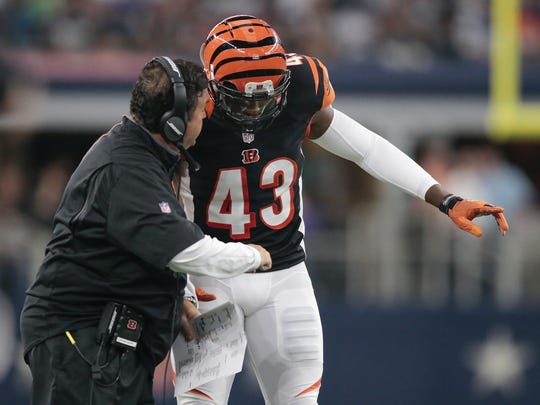 Bengals safety George Iloka signed a five-year extension last offseason.