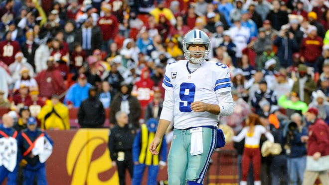 The Cowboys are 1-8 in the past nine playoff games and quarterback Tony Romo, back in the postseason for the first time in five years, is 1-3 in his playoff career with the weight of the world on his shoulders.