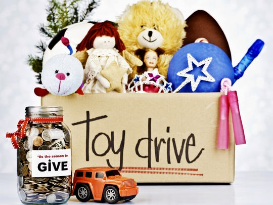 Toy Drive and Donation Jar