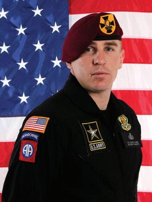 Corey Hood enlisted with the Army immediately after graduating Lakota West High School in 2001.